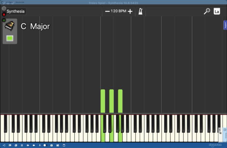 Online-Klavierunterrichte Screenshot